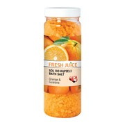 Fresh Juice, sól do kąpieli, Orange&Guarana, 700 g