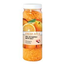 Fresh Juice, sól do kąpieli, Orange&Guarana, 700 g