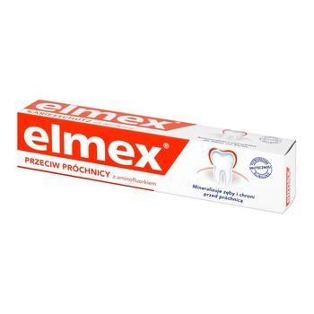 Elmex, przeciw próchnicy z aminofluorkiem, pasta do zębów, 75 ml