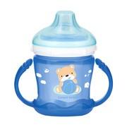 Canpol Babies, kubek niekapek, Sweet Fun, niebieski, 9 m+, 180 ml