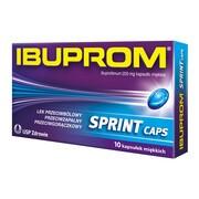 Ibuprom Sprint Caps, 200 mg, kapsułki miękkie, 10 szt.