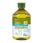 O`Herbal, szampon do włosów suchych i zniszczonych, ekstrakt z lnu, 500 ml