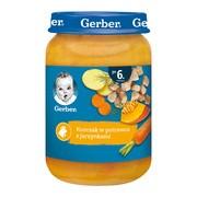Gerber, kurczak w potrawce z jarzynami, 6 m+, 190 g