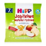HiPP BIO, jabłkowe wafelki ryżowe, po 7. miesiącu, 30 g