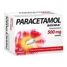 Paracetamol  Biofarm, 500 mg, tabletki, 50 szt.