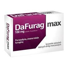 Dafurag max, 100 mg, tabletki, 30 szt.