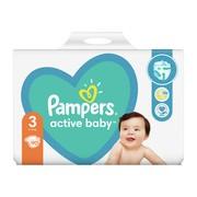 Pampers Active Baby 3 (6−10 kg), pieluszki jednorazowe, 90 szt.