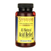 Swanson Acid Relief, kapsułki, 60 szt.