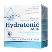 Olimp Hydratonic Med, proszek w saszetkach o smaku malinowym, 10 szt.