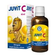 Juvit C, 100 mg/ml, krople doustne, 40 ml