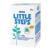 Nestle Little Steps 3, mleko modyfikowane Junior dla dzieci po 1 roku, 600 g