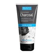 Beauty Formulas, oczyszczający peeling do twarzy, z aktywnym węglem, 150 ml