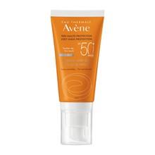 Avene Eau Thermale Sun, krem anti-aging, bardzo wysoka ochrona przeciwsłoneczna, SPF 50+, 50 ml
