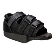 Qmed Prostoperative Shoe, but pooperacyjny odciążający przodostopie, czarny, rozmiar L