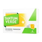 Tantum Verde smak miodowo-pomarańczowy, 3 mg, pastylki twarde, 30 szt.