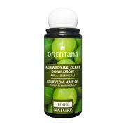 Orientana, olejek ajurwedyjski do włosów, amla i bhringraj, 105 ml