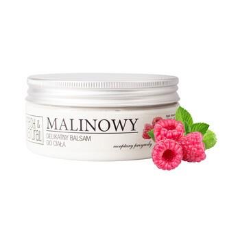 Fresh&Natural, malinowy, delikatny balsam do ciała, 250 ml