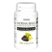 Morwa Biała Sacharoblocker, tabletki, 200 szt.
