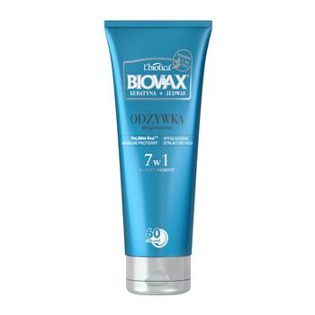 Biovax Keratyna + Jedwab, BB odżywka ekspresowa do włosów, 7w1, 200 ml