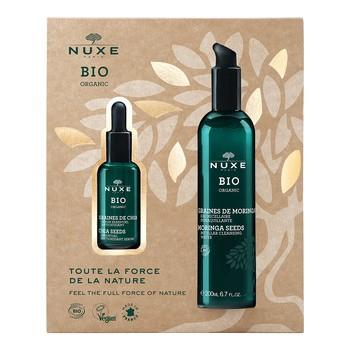 Zestaw Promocyjny Nuxe Bio, esencjonalne serum antyoksydacyjne, 30 ml + woda micelarna do demakijażu, 200 ml