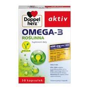 Doppelherz Aktiv Omega-3 Roślinna, kapsułki, 30 szt.