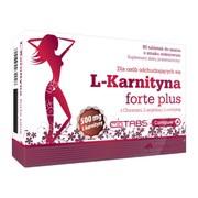Olimp L-Karnityna Forte Plus, tabletki do ssania o smaku wiśniowym, 80 szt.