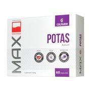 Max Potas, 333 mg, kapsułki, 60 szt. (Colfarm)