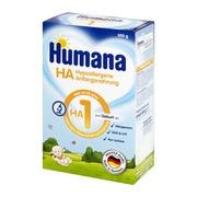 Humana HA 1, hipoalergiczne mleko początkowe, proszek, 500 g