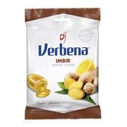 Verbena, cukierki ziołowe, imbir, 60 g