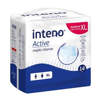 Inteno Active Majtki chłonne, XL, 14 szt.