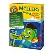 Mollers Omega-3 Rybki, żelki, smak owocowy, 36 szt.