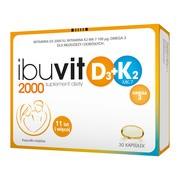 Ibuvit D3 2000+K2 MK-7 0mega 3, kapsułki, 30 szt.