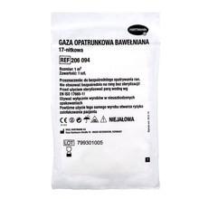 Gaza niejałowa, bawełniana, 17-nitkowa, 1 m2