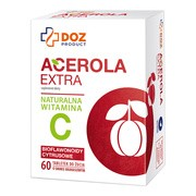 DOZ PRODUCT Acerola Extra, tabletki do żucia, 60 szt.
