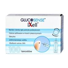 Lancety do nakłuwacza Glucosense, 100 szt.