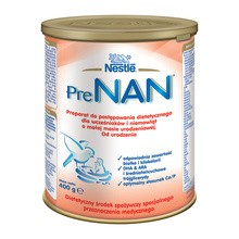 Nestle Prenan mleko dla wcześniaków i niemowląt o małej masie urodzeniowej 400 g