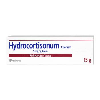 Hydrocortisonum Aflofarm, 5 mg/g, krem, 15g