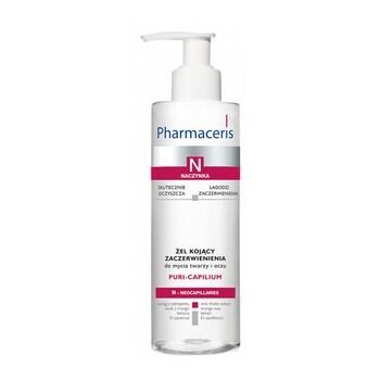 Pharmaceris N Puri-Capilium, żel kojący zaczerwienienia, do mycia twarzy i oczu, 190 ml