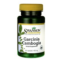 Swanson Garcinia Cambogia extract, kapsułki, 60 szt.