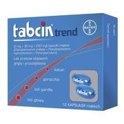 Tabcin Trend, kapsułki miękkie, 12 szt.