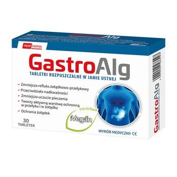 Gastroalg, tabletki rozpuszczalne w jamie ustnej, 30 szt.