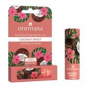 Orientana, naturalny balsam do ust Coconut Sweet, 4,2 g