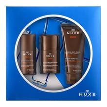 Zestaw promocyjny Nuxe Men, żel nawilżający do twarzy, 50 ml +  żel pod prysznic, 100 ml + dezodorant roll-on, 50 ml