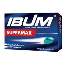 Ibum Supermax, 600 mg, kapsułki miękkie, 10 szt.