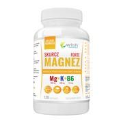 Wish Magnez Skurcz Forte + Potas + B6, kapsułki, 120 szt.