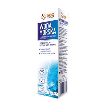 DOZ PRODUCT Woda morska, spray do nosa, 100 ml