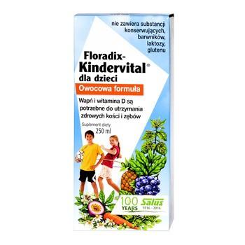 Floradix Kindervital, płyn, 250 ml