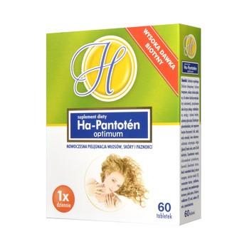 Ha-Pantoten optimum, tabletki, 60 szt