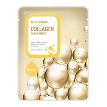 SeaNTree Collagen Mask Sheet, maseczka na bawełnianej płachcie z ekstraktem z kolagenu, 20 ml