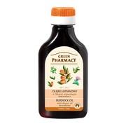 Green Pharmacy, olejek łopianowy z olejem arganowym, odbudowujący, 100 ml